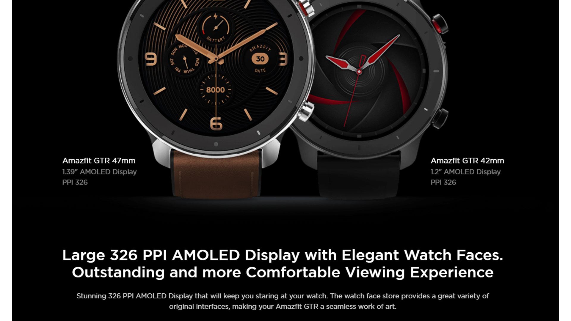 Amazfit GTR 47 Reloj Amazfit Reloj Amazfit